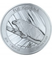 Срібна монета 1oz Ігуана 1 долар 2016 Фіджі