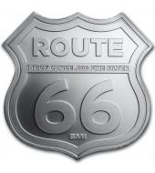 """Срібний раунд 1oz Міссурі серія """"Роут 66"""" США"""
