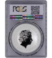 Серебряная монета 1oz Пиратский корабль «Месть Королевы Анны» 1 доллар 2019 Тувалу (PCGS MS70)