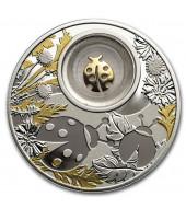 Срібна монета Божа Корівка 500 франків 2020 Камерун