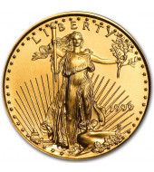 Золота монета 1/4oz Американський Орел 10 доларів 1999 США