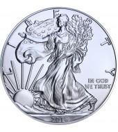 Срібна монета 1oz Американський Орел 1 долар 2016 США (MintDirect)