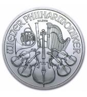 Серебряная монета 1oz Венская Филармония 1,5 Евро 2010 Австрия
