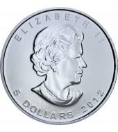 Срібна монета 1oz Пума Дика Природа 5 доларів 2012 Канада