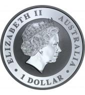 Срібна монета FABULOUS 15 (F15) Кукабара 1 долар 2017 Австралія