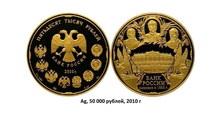 Золоті монети Росії