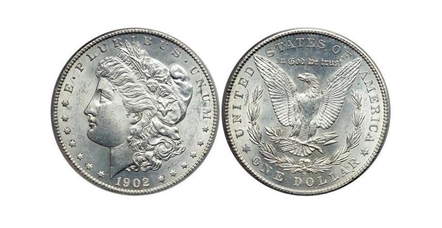 Монета 1 доллар США